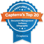 capterra top 20 badge