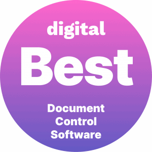 badge 2020 BEST DOCUMENT MANAGEMENT SOFTWARE by Digital.com