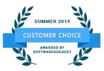 SoftwareSuggest Customer Choice 2019